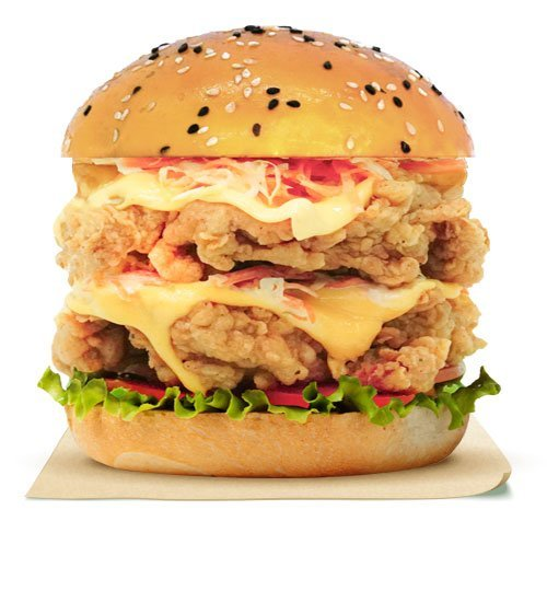 Friggys-DDouble-Crispy-Chick'n-Burger