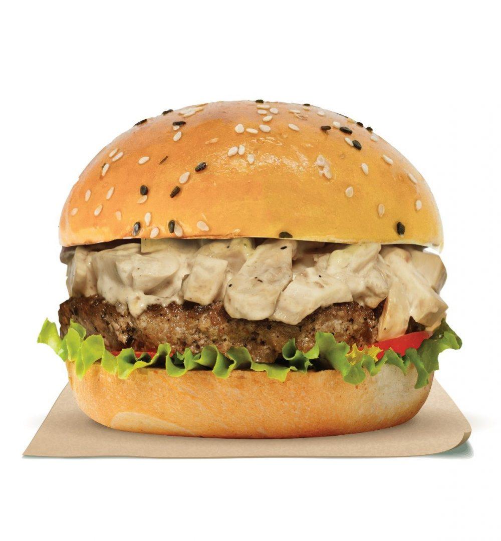 Shroom Beef & Cheese Burger